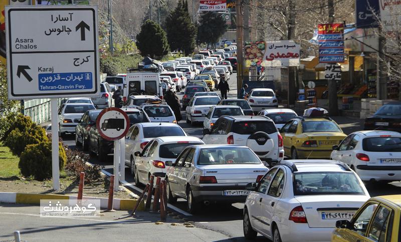 جریمه شدن ۹۱ راننده متخلف در شهرستان البرز