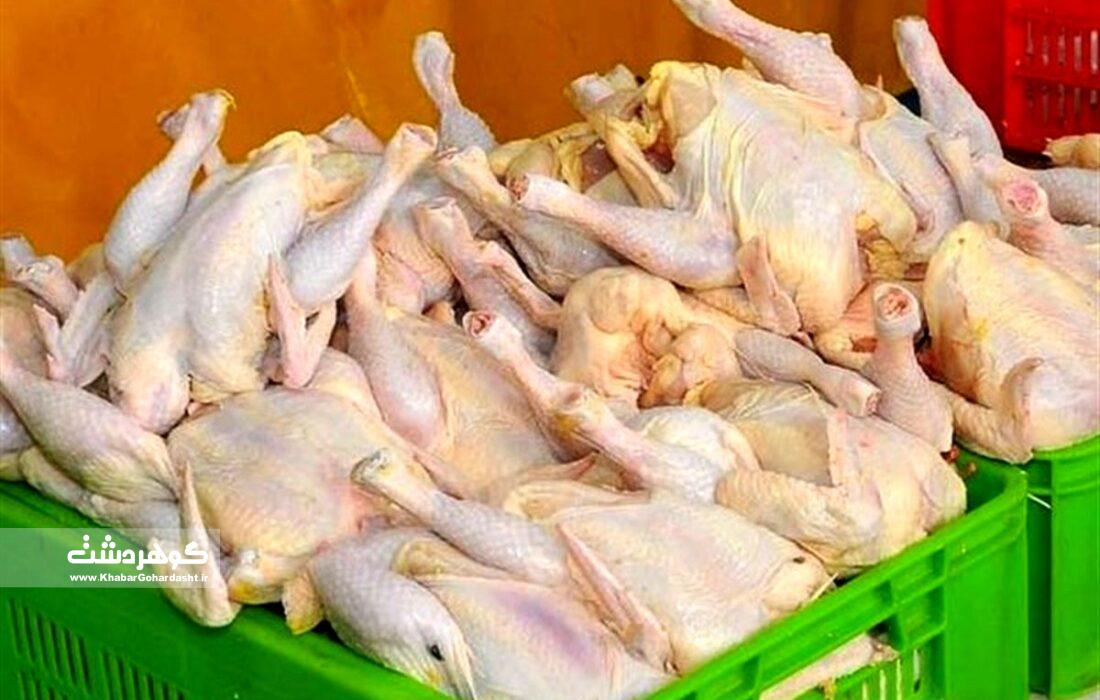 کمبود مرغ در البرز