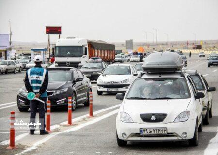 ثبت ۱۶ میلیون تردد خودرویی در جاده های البرز