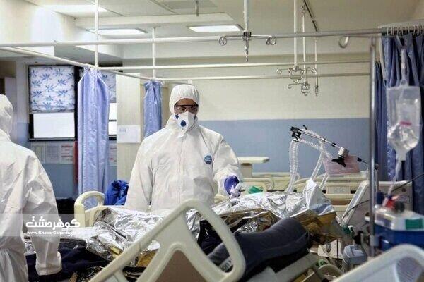 آمادهسازی بیمارستان صحرایی برای بستری بیماران کرونایی در البرز