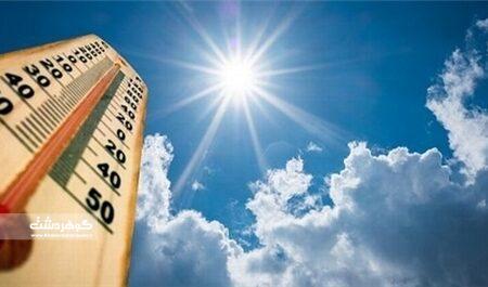دمای هوای البرز کاهش می یابد